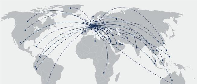 [Translate to english:] Weltkarte